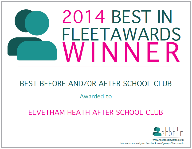 2014 Best in Fleet Awards Winner